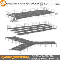 2017 popular movable stage platform for outdoor wedding party
