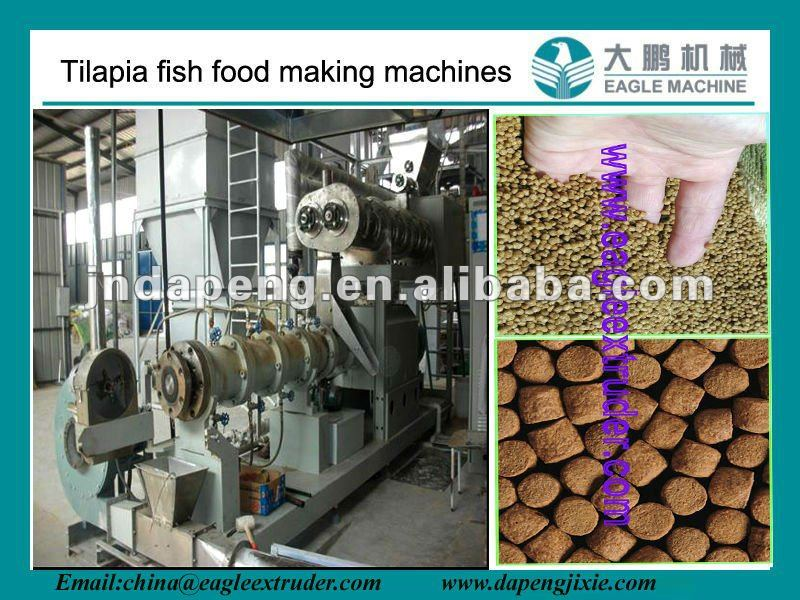 Jinan Eagle floating Fish food pellet making machine