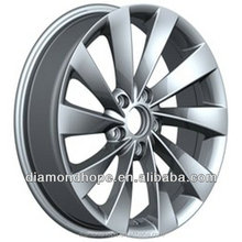 "18 inch black chrome alloy wheels 16"" inch white rims(ZW-P438)"