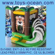 inflatable tiger bouncer with slide ,inflatable mini bouncer for sale ,inflatable bouncers for toddlers