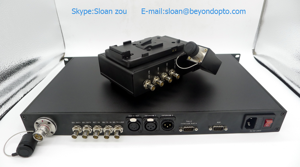 EFP To Fiber Converter(Remote +3G/HD-SDI+Return+Intercom+Tally...Set.)