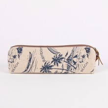 Korean Style Fabric Pencil Case with Zipper