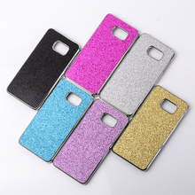 For Samsung Galaxy Note 5 Glitter Case Back Cover Metal Bumper Case for Galaxy Note5 N9200 Aluminium Luxury