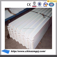 durable sunfast roof tile manufacturer / corrugated galvanized steel sheet 2mm thick for prefab house