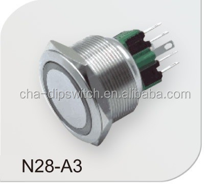 12mm,16mm,19mm 22mm 25mm 28mm 30mm Round waterproof metal push button switch