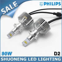 Trade Assurance Philips 4500lm D2R D2S Guangzhou Factory LED Truck Light Bulb 45W