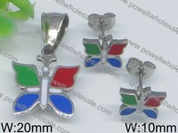 Selected materials Silver Butterfly italian enamel jewelry