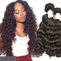 100% human virgin hair bundles 3 bundles 20inch italian hair care products