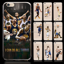 Basketball Star Curry Printing Phone Cover Case for iphone 5/6/6plus Top Selling Products 2016