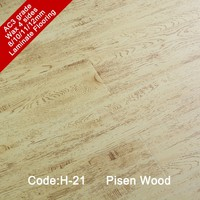 12mm 10mm ac5 hdf waterproof european oak engineered wood laminate flooring