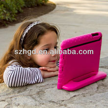 Kids shockproof handle stand case cover for ipad mini 2