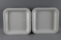 Plastic small tray Melamine Square tray for Cake