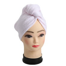 Magic Quick-Dry Hair Turban Towel Beauty Cap Bamboo Hair Wrap Towel for Faster Drying