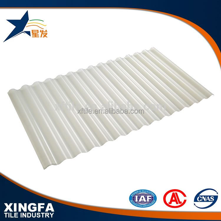 Sound insulation clear trapezium galvanized metal roofing sheet