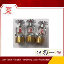 pendent firefighter sprinkler heads for fire fighting