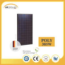 Cheap AE P6-72 Series 305w High Power Black Frame Poly Solar Panel From Popular China Manufacturer