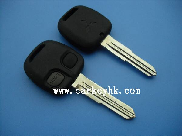 2 button smart remote <strong>key</strong> 313.8MHZ NO chip for Mitsubishi