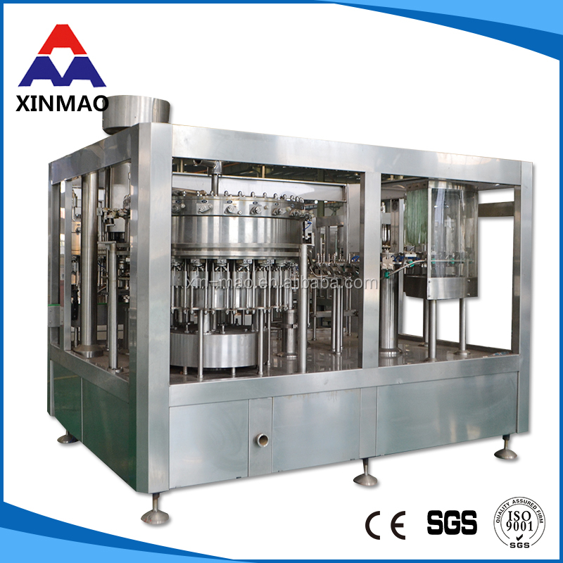 Reliable Stable Operation Fully-automatic semi automatic tube sealing soda water making filling machine
