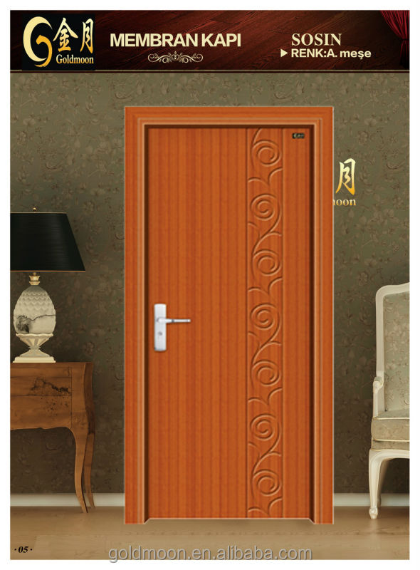 high quality accordion doors with low price locks GM-8033