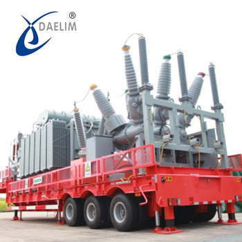 EPS Mobile Substation For YB Series Mobile Transformer Substation 69kv 15000KVA