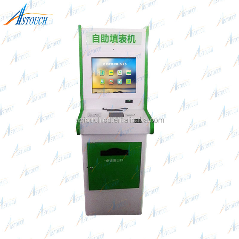 A4 Kiosk Printer Self Service Touch Kiosk With A4 Printer