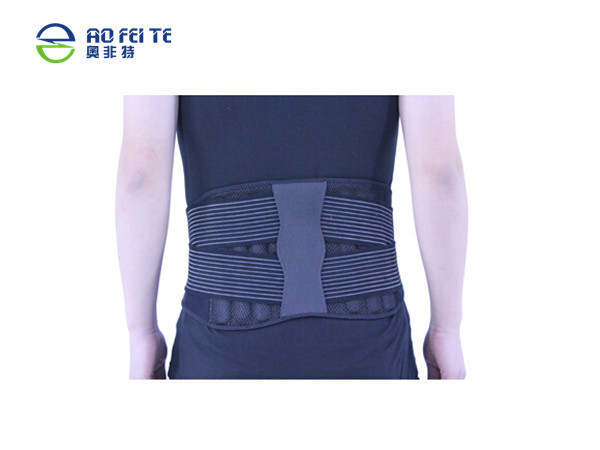 Aofeite 2017 New Back pain Relief Waist Brace Double Pull Lumbar Support Hot Cold Therapy Back Brace For Lower Back