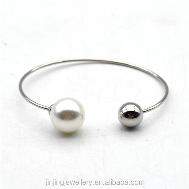 pearl bead bracelets bangle women fashion bangle