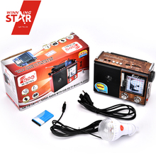 Multifuncional Radio Station Equipment Wholesale Portable Satellite Radio, Radio Emergency Light For Store