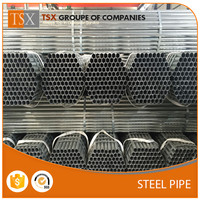 TSX-GP1671625 piping steel galvanized prices 8 inch tube galvanized manufacturer