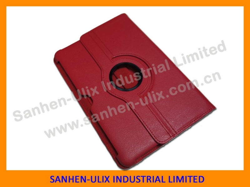 rotatable cover P5100 for Samsung galaxy tab 2 case