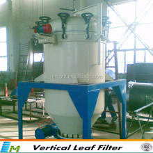 Remont hot sold crude oil filter machine vertical pressure leaf filter