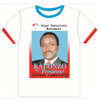 100% cotton election campaign t-shirts africa shirt sports jersey new model