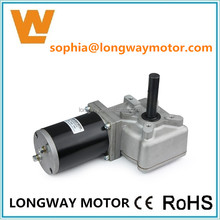 12V 350W dc micro worm gear motor for electric car and truck