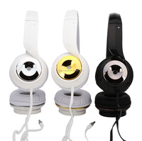 New Style wired stereo headphone with microphone for mobile phone or music player