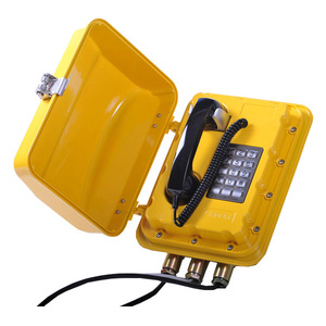 IP 65 Host industrial harsh environment Exd telephone explosion proof industrial phone