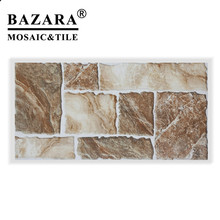 New Mexican Style Outdoor Floor Polished Glazed Porcelain Tile