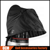 Custom Golf Bag Rain Covers, Black Waterproof Golf Bag Rain Hood