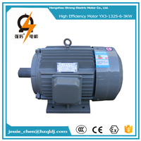 YE3 IE3 premium efficiency 3000w ac electric certification exhaust fan motor