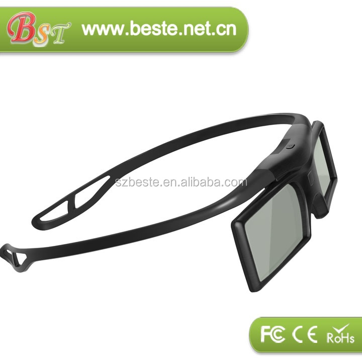 GOOD quality low price 3d glass dlp link,active shutter glasses