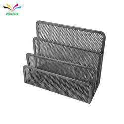 Office school home iron wire steel metal mesh desktop document file paper mail sorter letter organizer