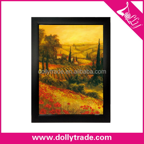 24*36 2015 Autumn Natural Scenery Wall Picture with Plastic Frame