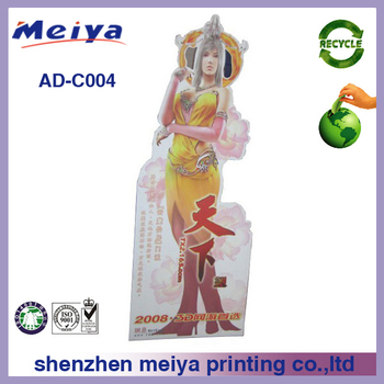 Corrugated Cardboard Lifesize Advertising Standee for Games Show,Cardboard Cutouts,Cardboard Standees