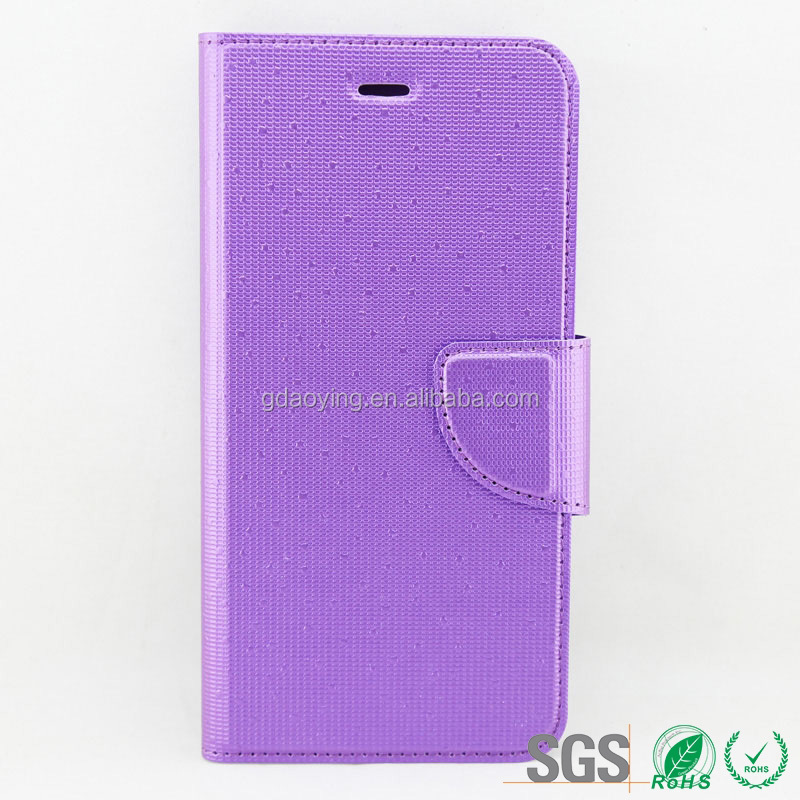 colorful buckle leather case for iphone6 PU material