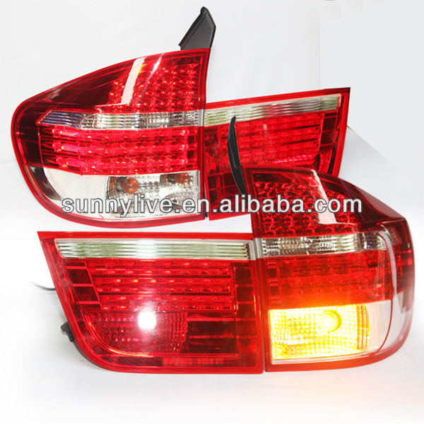 X5 E70 LED Tail Lamp for BMW Red White Color 2007-2010 year