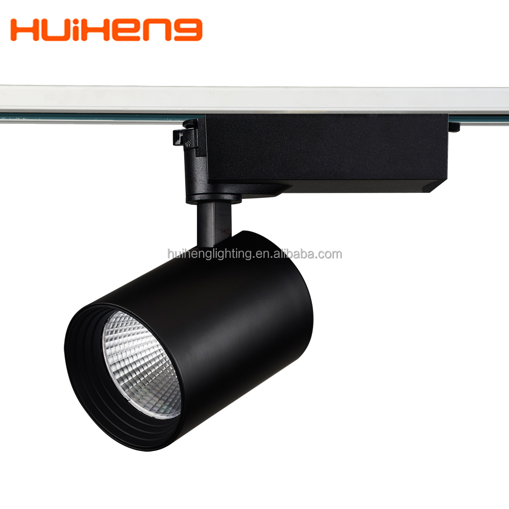 Black 30w Trade Shows Track Lighting