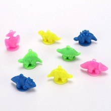 2018 Hot Sale High Quality Plastic Dinosaur Indoor Handle Stamp Toys