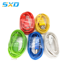 3FT 6FT 10FT micro usb cable charging data usb cable with led light for iphone ipad ipod nokia
