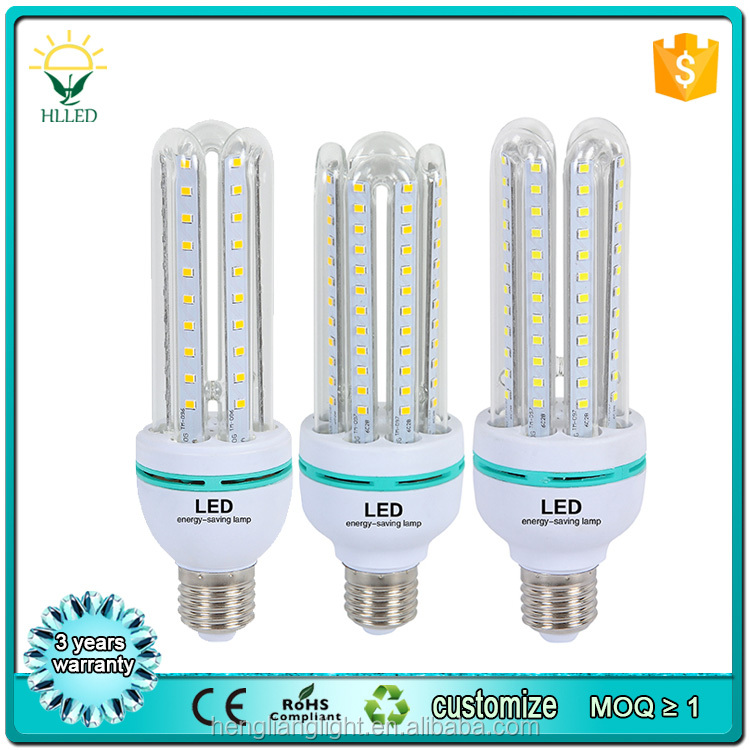 <strong>U</strong> shape energy saving 3w 4w 5w 6w 7w 8w 9w 10w 12w 15w 18w 16w 20w 23w 24w e27 led corn lamp bulb