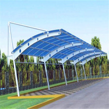 Car parking shade ,steel bleachers tensile fabric structure
