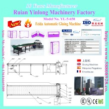 Model No.YL-5-650 Welcomed Half Automatic Gluing & Feeding Machine/Ruian factory/box making machine